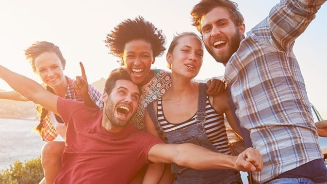 image of happy people - Berkley